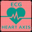 Icon Electrocardiogram (ECG) Rhythm App: Heart Axis