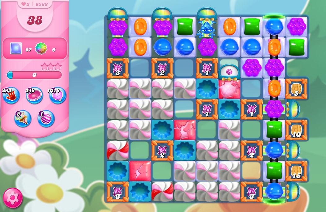 Candy Crush Saga level 8583