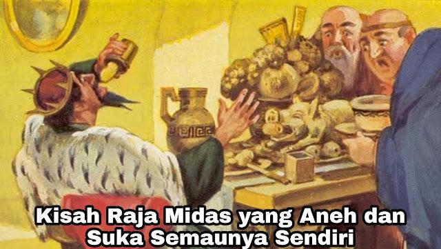 Kisah Raja Midas yang Aneh (Asia Kecil)