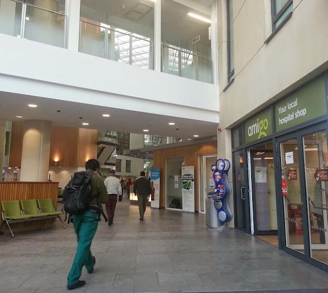 Interior of Southmead Hospital, Bristol