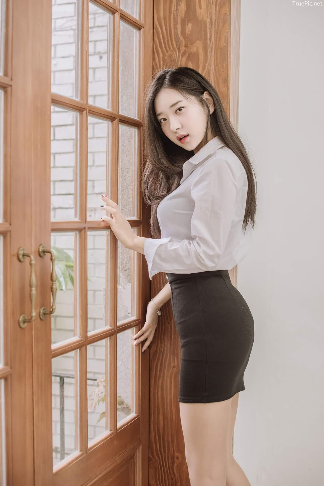 Korean hot model and fashion - Shin Jae Eun - Various Sets collection - Picture 1