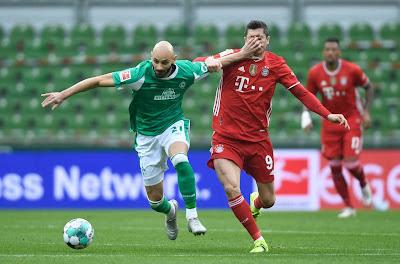 ملخص واهداف مباراة بايرن ميونخ وفيردر بريمن (3-1) الدوري الالماني