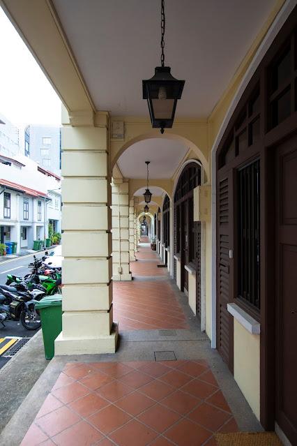 I portici di Singapore