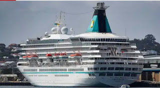 Cruise ship carrying passengers makes it home since six months ago