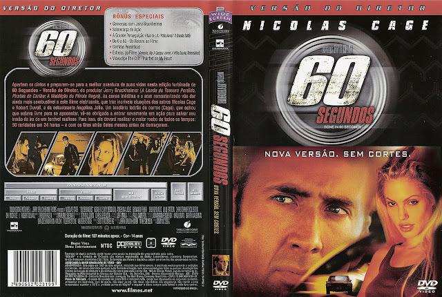 Capa DVD 60 SEGUNDOS
