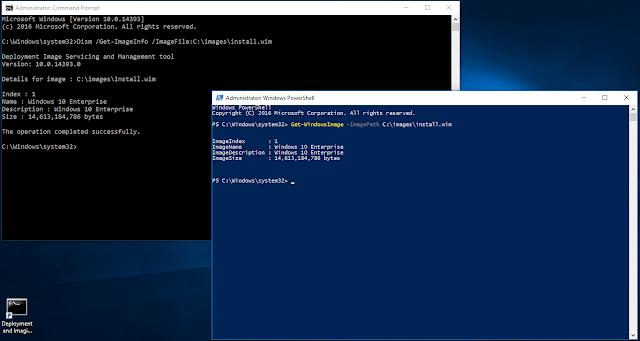 Quy trình build bộ cài Windows 10 version 1607 sử dụng Windows Powershell