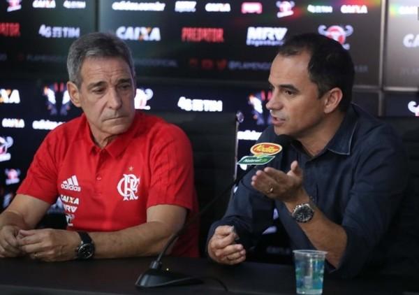 Oficial: Flamengo, destituidos Caetano y Carpegiani