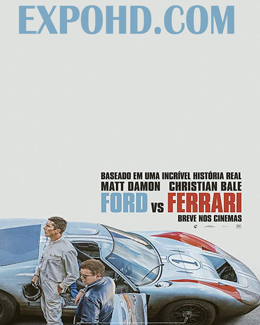 Ford v Ferrari 2019 Full Movie Download 720p | HDRip x265 | Dubbed Hindi