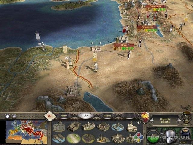 Medieval 2: Total War oyun harita hilesi