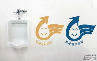 沖水小便器新增金級省水標章 年可省水百萬噸