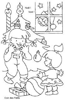 Desenho natal colorir