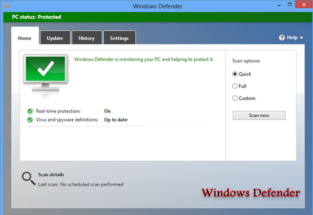 برنامح Windows Defender اخر اصدار