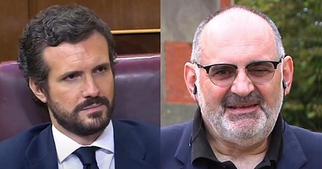 Pablo Casado y Antón Losada