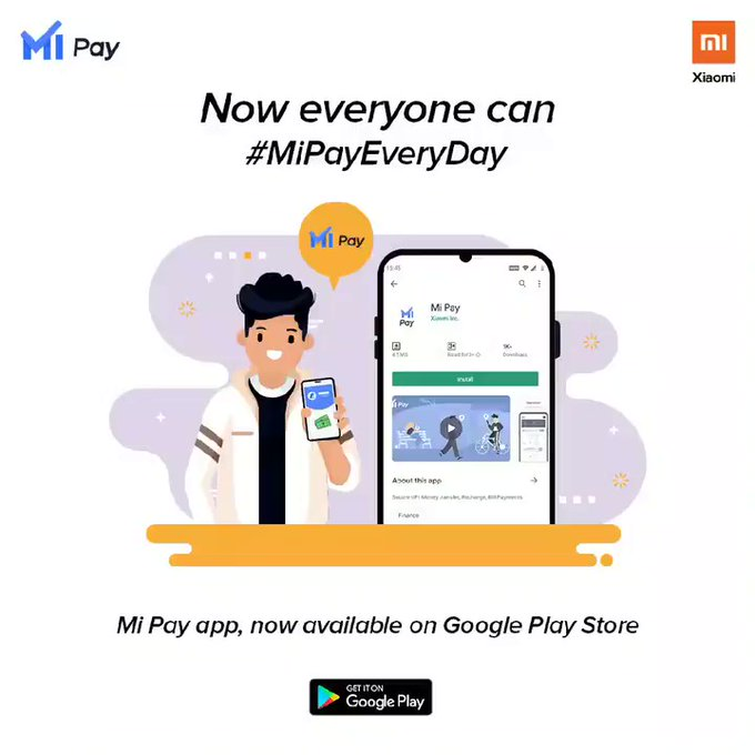 Mi Pay app Google Play Store