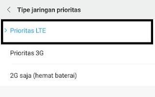 Pengaturan Jaringan HP Xiaomi