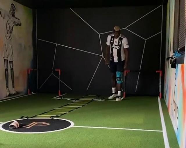 Pogba chọc giận fan MU: Ngang nhiên mặc áo Juventus, lộ lí do ngỡ ngàng