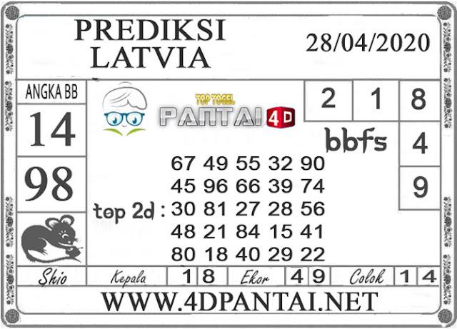 PREDIKSI TOGEL LATVIA PANTAI4D 28 APRIL 2020