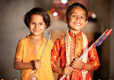 Image result for Kids celebrations for diwali