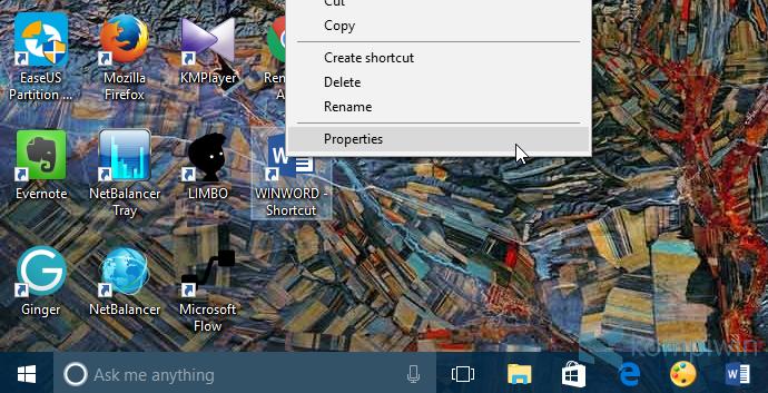 microsoft word shortcut desktop membuka dokumen yang baru diedit