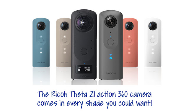 Ricoh Theta Z1 - A perfect gift in so many colour options
