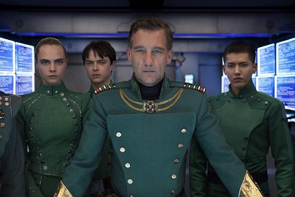 Laureline, Valerian e o Comandante