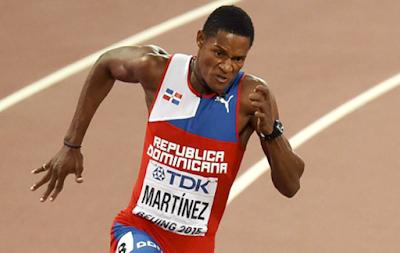 #YancarlosMartínez  pasar a semifinales e impone record nacional en 200 metros planos    @EntreJerez