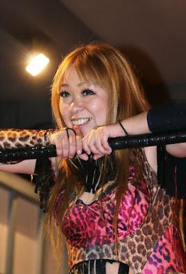 Hamuko Hoshi - Japanese Female Wrestling