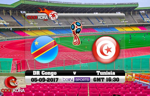 مشاهدة مباراة الكونغو وتونس اليوم 5-9-2017 تصفيات كأس العالم
