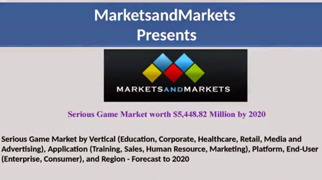 Serious Game Market Size 2015-2020 by MarketsandMarkets