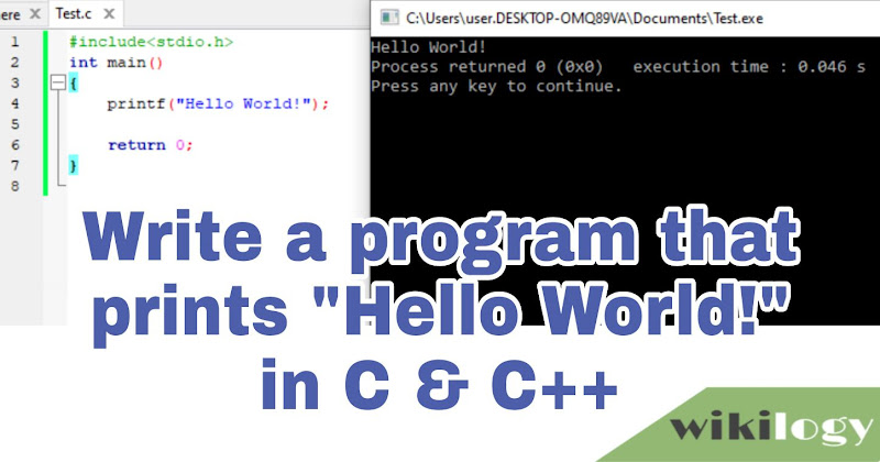 URI online judge 1000 solution: Hello World! program in C C++