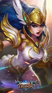 Freya Valkyrie Heroes Fighter of Skins Old V1