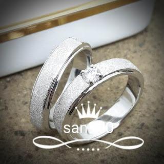 Cincin tunangan,cincin pernikahan,cincin kawin pasangan couple nikah custom limited muslim model harga terbaru paladium platina platinum perak emas putih