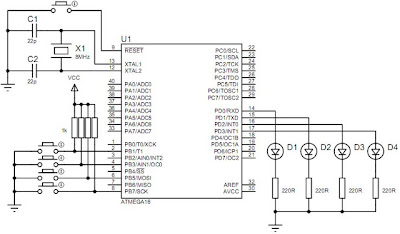 2202 AVR Programmer Schematics A Bit Confused besides PIC16F877 furthermore ATTINY13 20MU additionally 2010 12 01 archive as well Ply a. on atmega16 datasheet