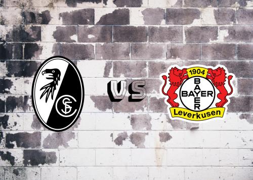 Freiburg vs Bayer Leverkusen  Resumen