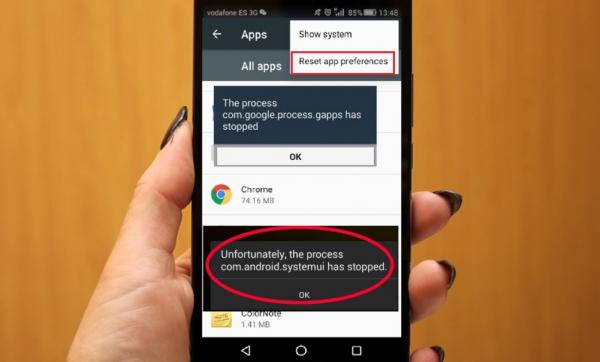 Cara Mengatasi Sayangnya Process.com.android.phone Telah Berhenti