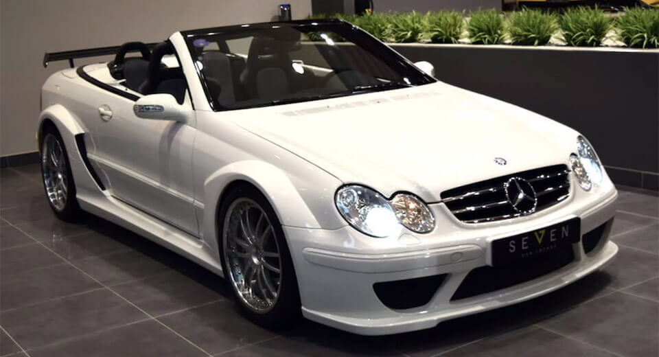 keep your black series we want this mercedes clk dtm cabrio. Black Bedroom Furniture Sets. Home Design Ideas