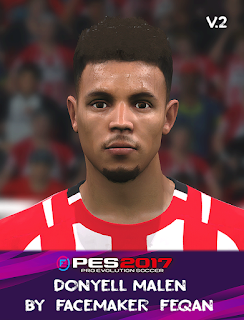 PES 2017 Faces Donyell Malen by Feqan