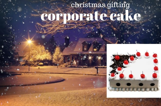 The Perfect Corporate Cakes Ideas To Christmas Gifting.