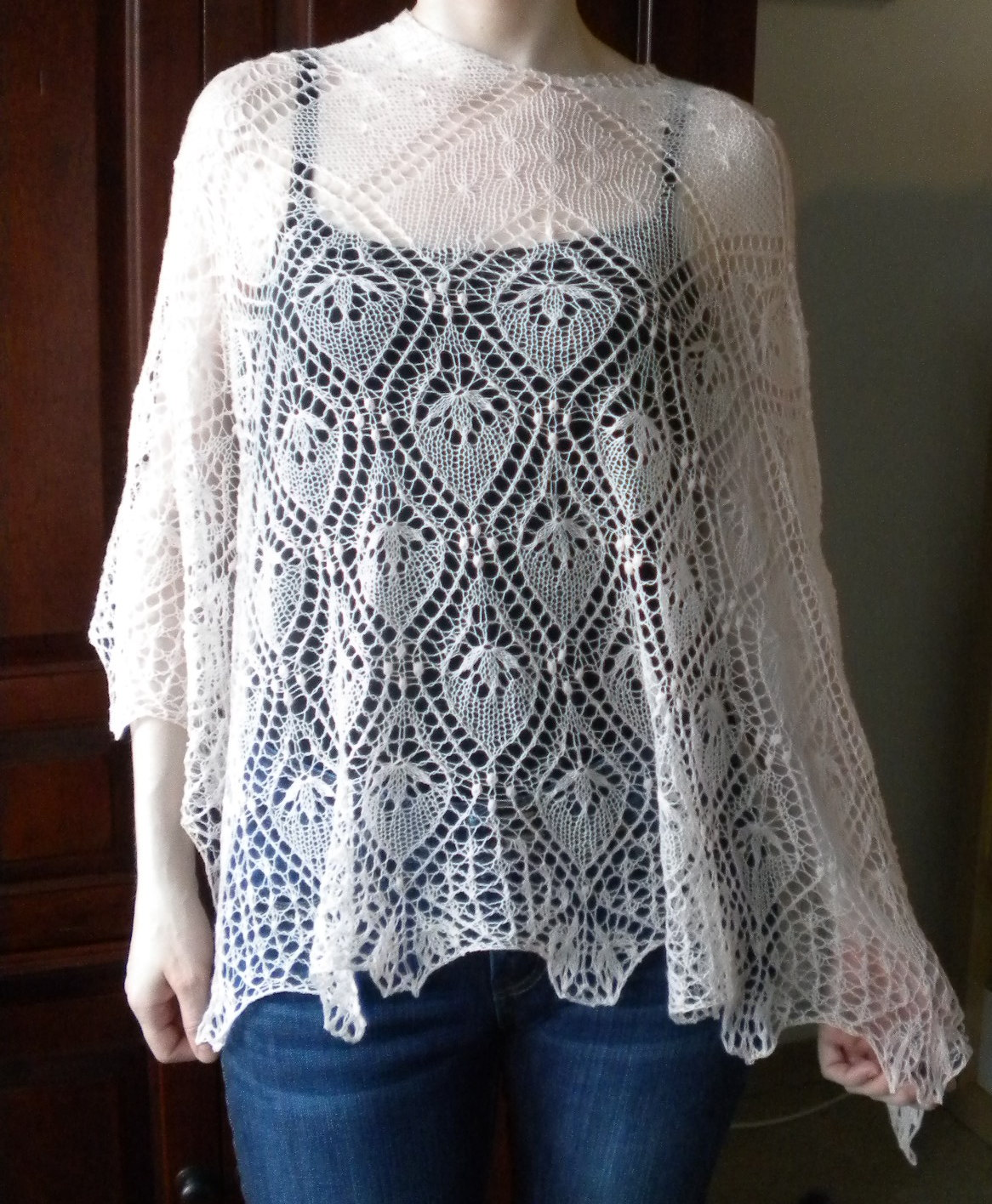 Comprehensively Quirky: Estonian Lace Shawl