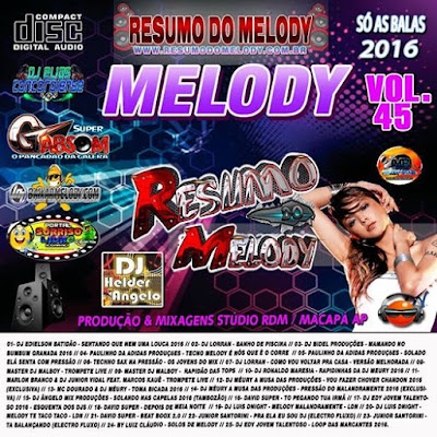 Cd Resumo do Melody vol.45
