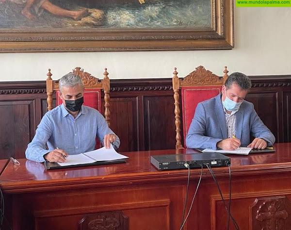 El Ayuntamiento de Santa Cruz de La Palma y el Real Club Náutico sellan un acuerdo para organizar la Mini Transat