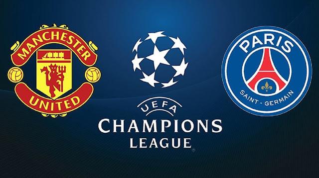 مباراة مانشستر يونايتد وباريس سان جيرمان دوري أبطال أوروبا بث مباشر
