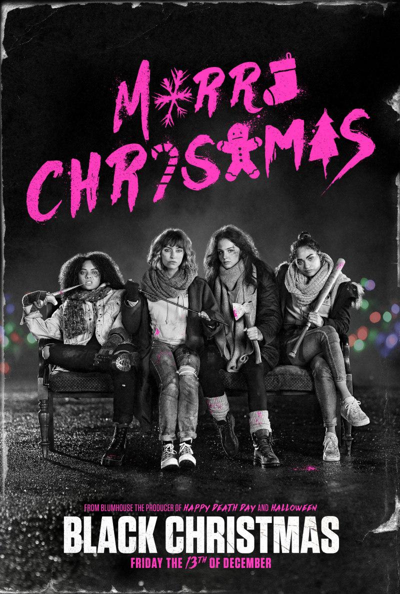 black christmas 2019 poster