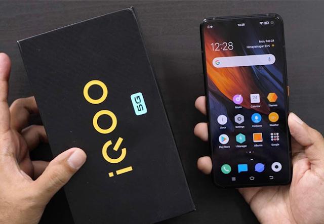5G smartphone iQOO 3