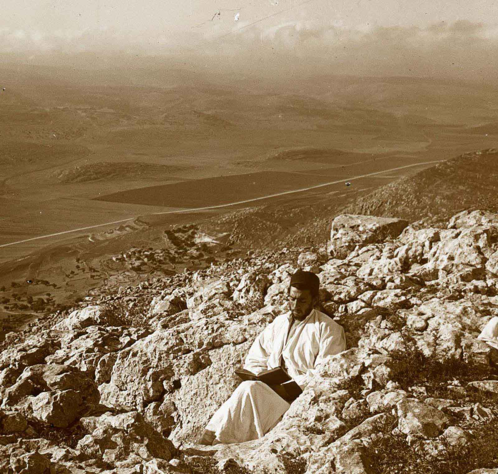 mountains holy land old photographs