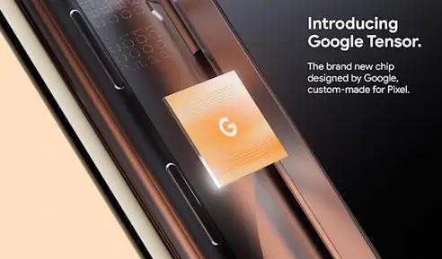 معالج شريحة Tensor جوجل