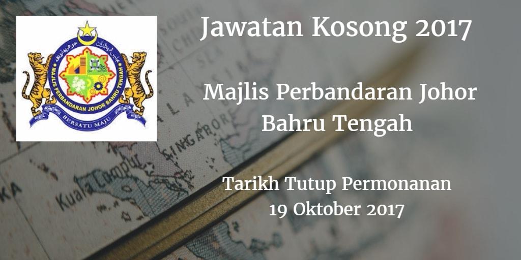 Jawatan Kosong MPJBT 19 Oktober 2017