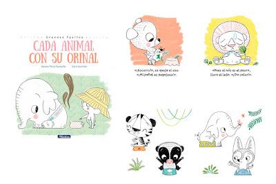 libros para dejar el pañal blog mimuselina cada animal con su orinal