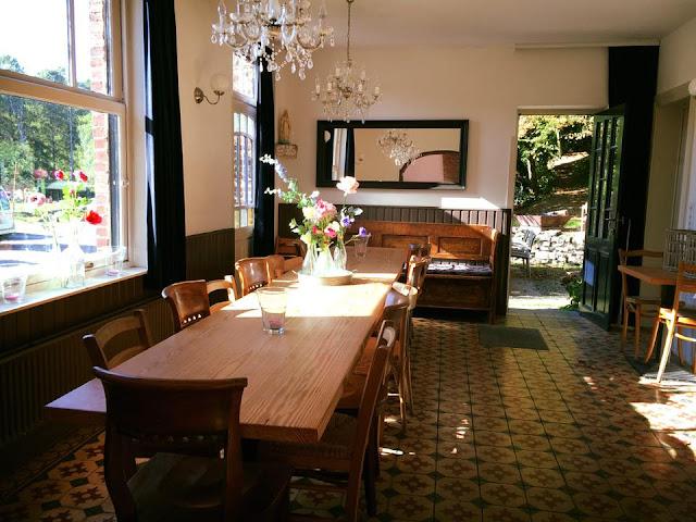 Let the sunshine in bij Vakantiehuis Auberge Le Barrage