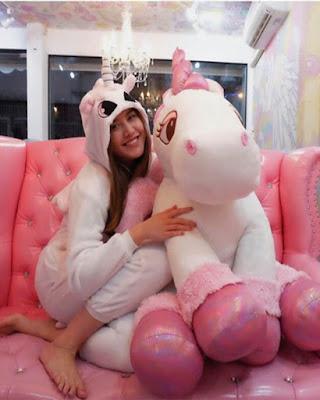 Unicornio de peluche foto tumblr